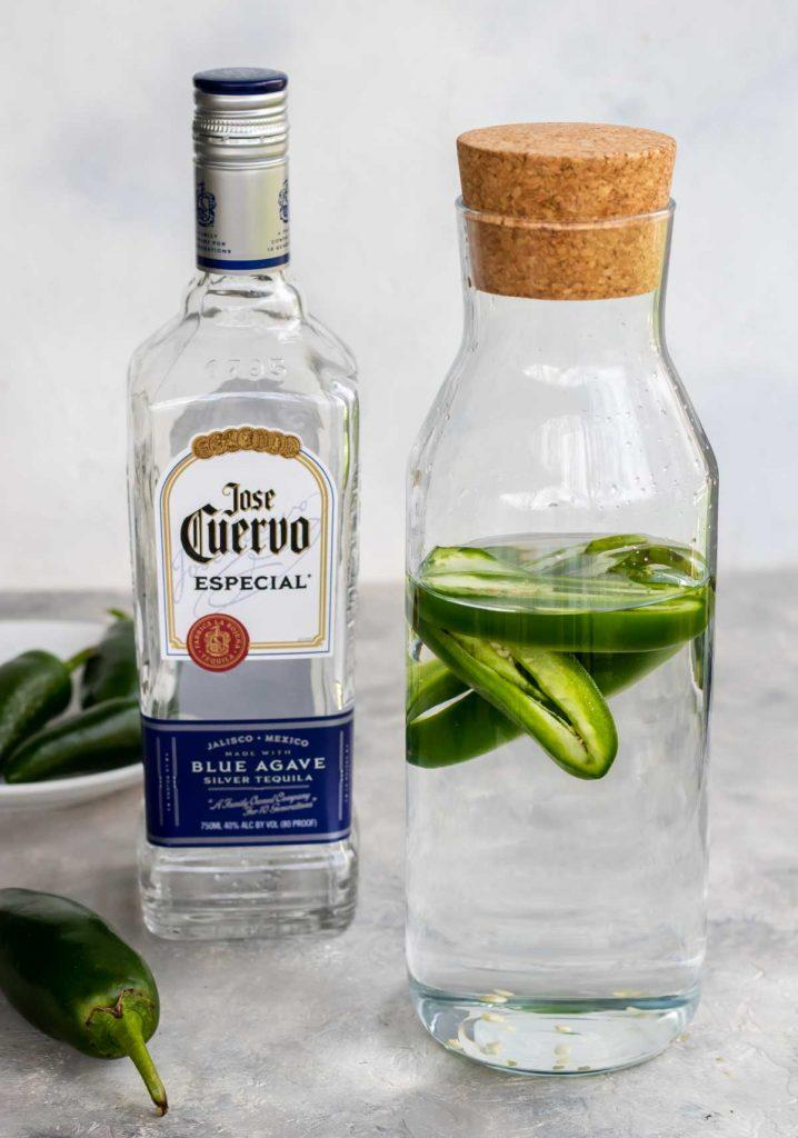 How to Make Homemade Jalapeno Tequila | Mom's Dinner